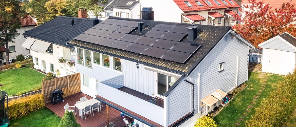 Rabatt på solcellepanel (TEST)