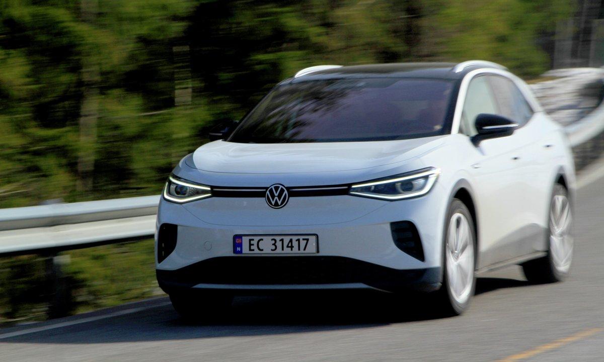 Test av Volkswagen ID.4 1st Max: Med denne kjører du fint 40 komfortable mil