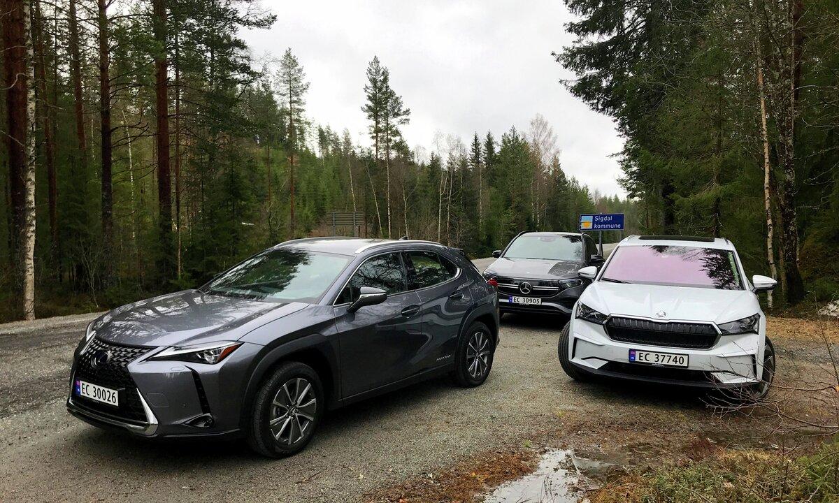 Stor trippeltest: SUV-kamp i kompaktklassen