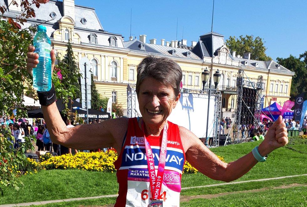 Sofia maraton, 2019 - Vera Nystad