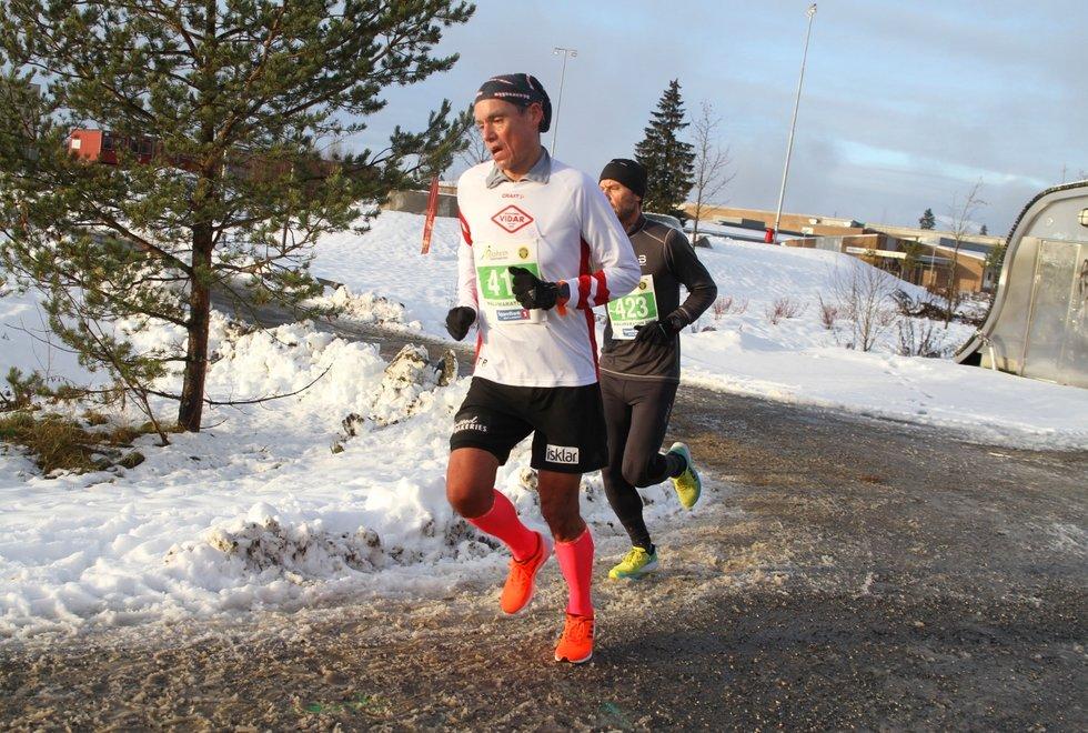 Tim Bennett i Jessheim Vintermaraton 2019