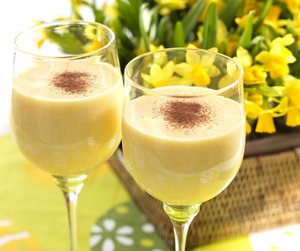 To glass smoothie i stetteglass