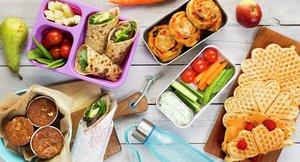 Lunsj og matpakker - fra boken Førsteklasses mat