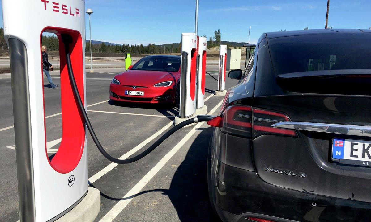 Første klassiske Tesla-superlader forsvinner