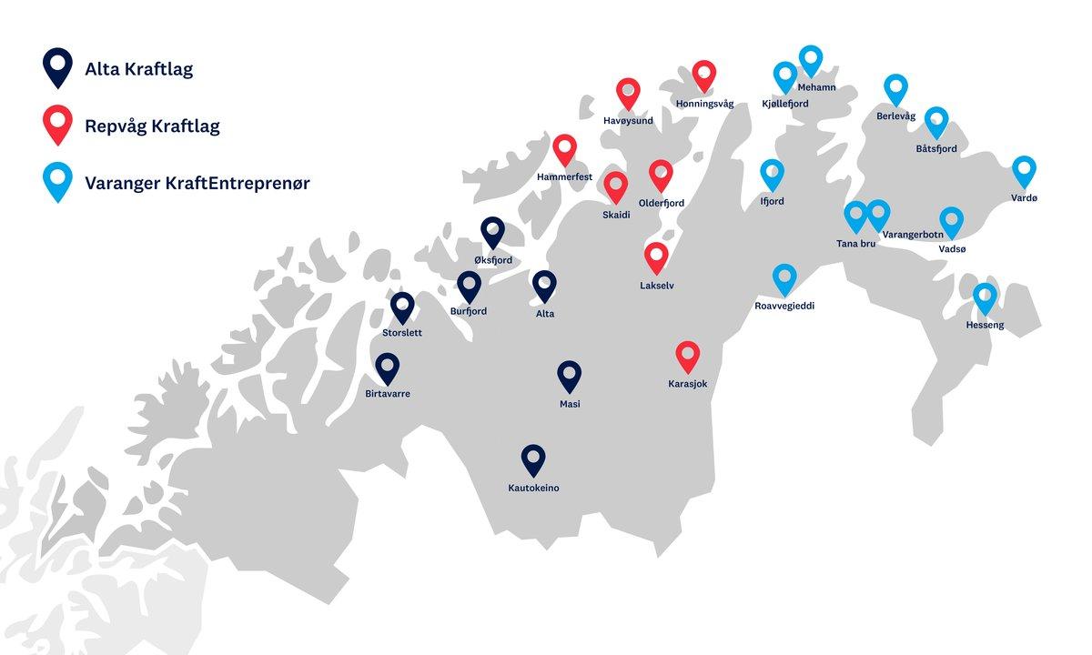 Endelig bygges ladenettverket i Troms og Finnmark!