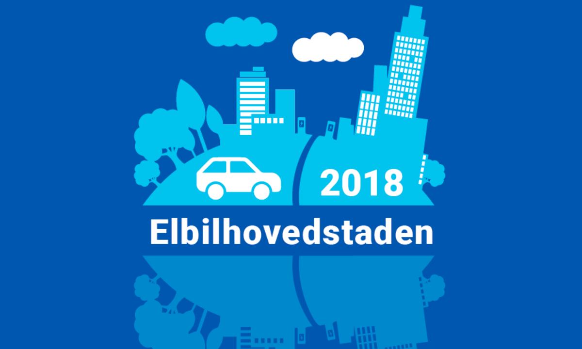 Kåring av Elbilhovedstaden 2018