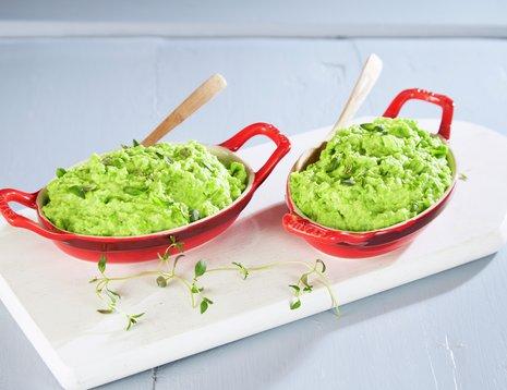 Ertepuré av grønne erter