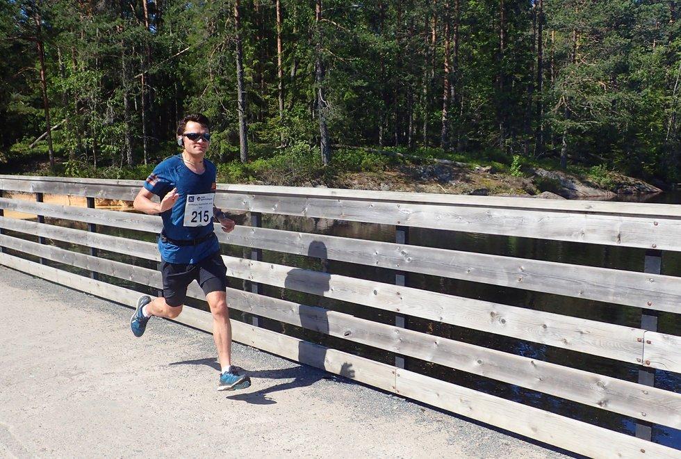 Joao Eiras i Nordmarka Skogsmaraton 2019