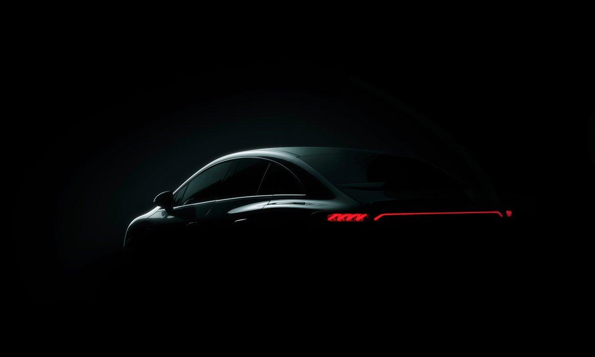 Nye Mercedes EQE: Denne skal ta opp kampen mot Tesla Model S