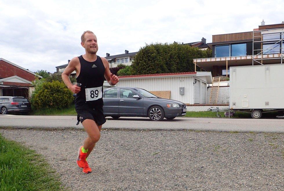 Ottar Grønvold i Tretoppsløpet på Jeløya 2019