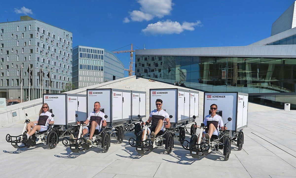 Elektriske lastesykler inntar norske byer