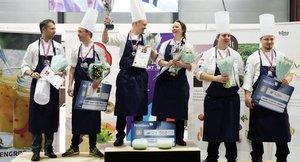 Vinneren av Årets grønne kokk 2017 - Nina Kristoffersen og Joachim Lindgren, Statholdergaarden
