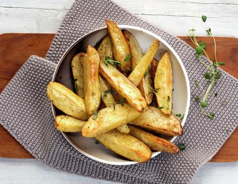 Oppblåste poteter - fra boken Førsteklasses mat
