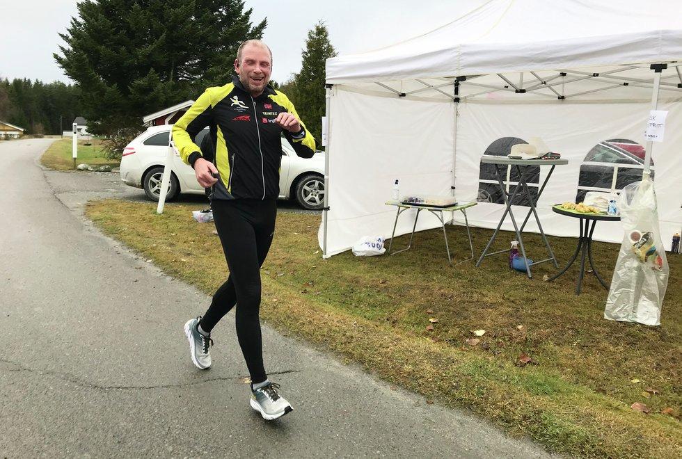 Roy K. Støle, Kondistreninga Årnes arrangerte Kondisløpet 31. oktober 2020