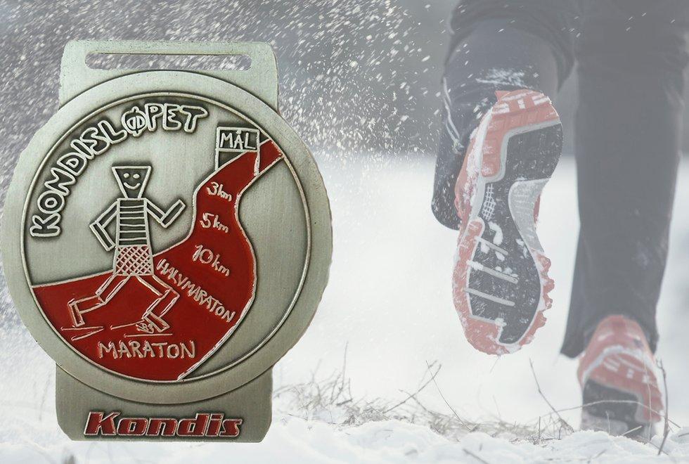 Samlemedaljen for Kondisløpet vinter