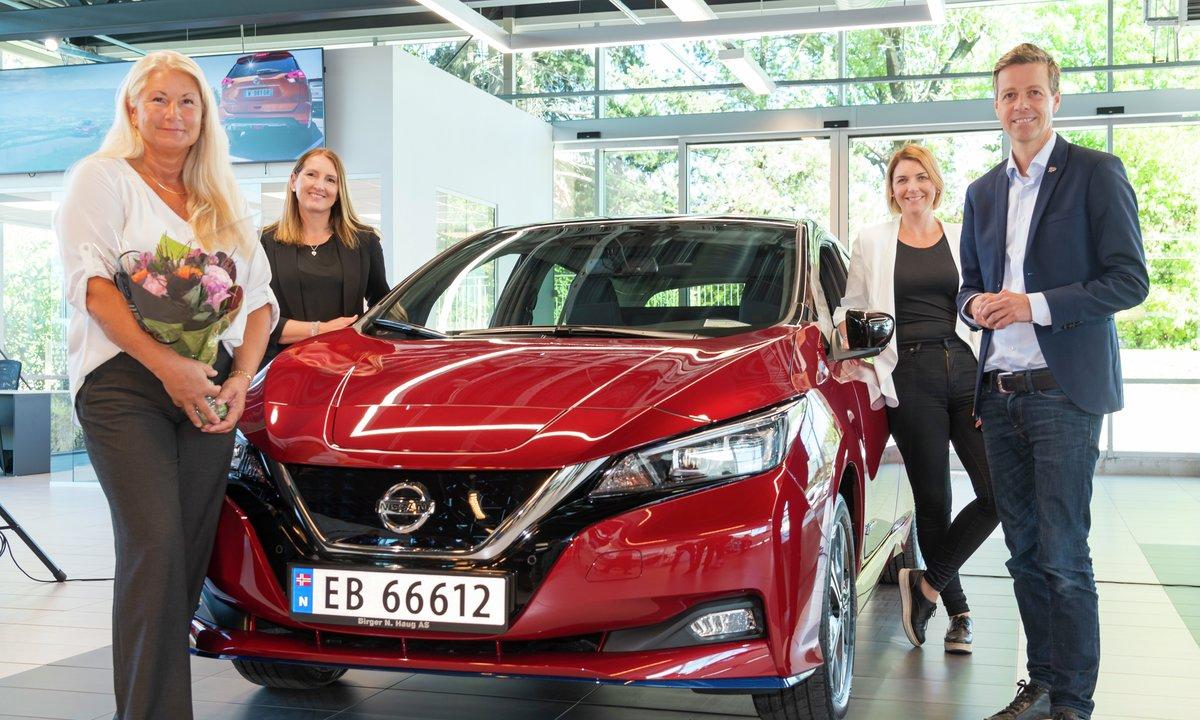 Nissan lanserer ny intro-Leaf: Norgesfavoritten blir mye billigere