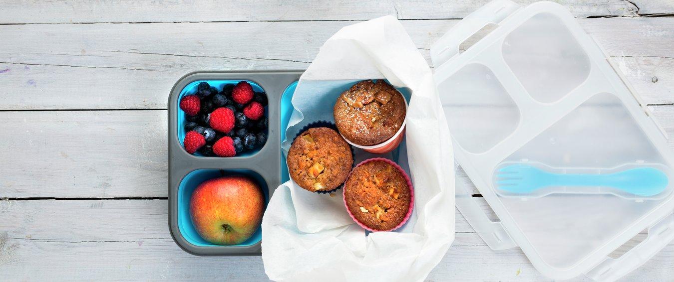Grove eplemuffins - fra boken Førsteklasses mat