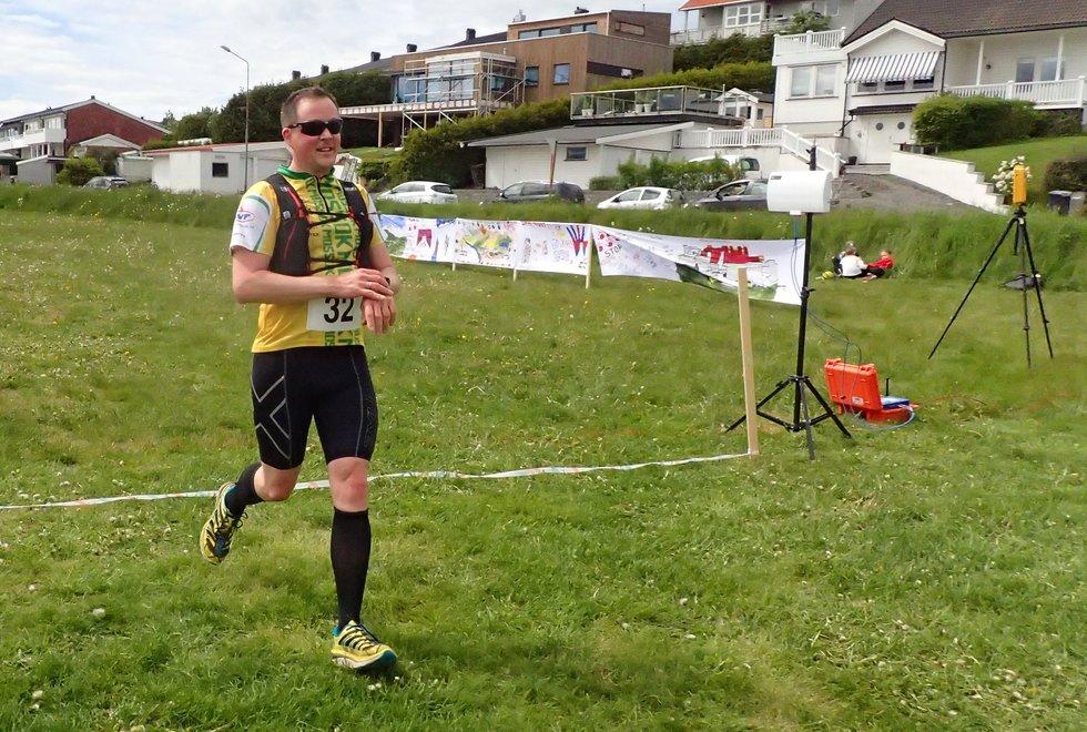 Thomas Roskifte i Tretoppsløpet på Jeløya 2019
