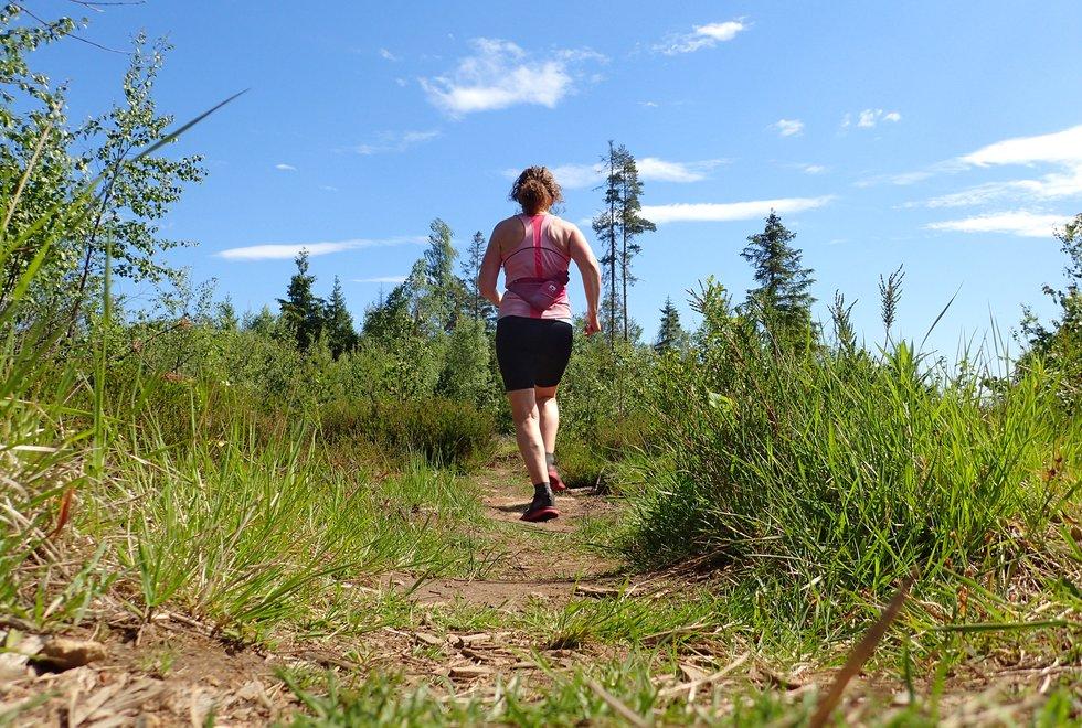 Marianne Røhmes beste langtur i Ullensaker fra Skogmo, via Åfallet til Åsmarka