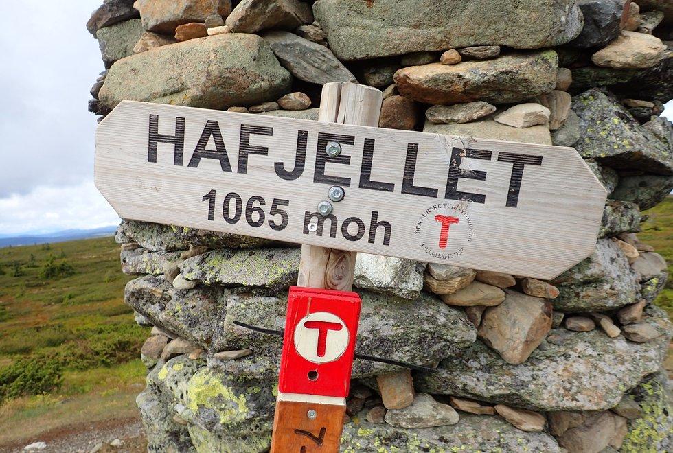 Ilsetra rundt Hafjelltoppen