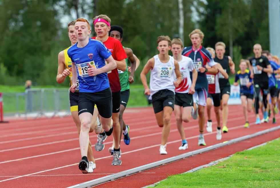 UM friidrett 2019 Jessheim - 2000m G15