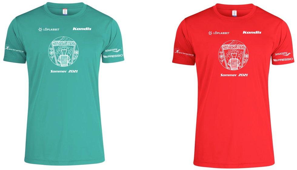 T-skjorter Kondisløpet sommer 2021