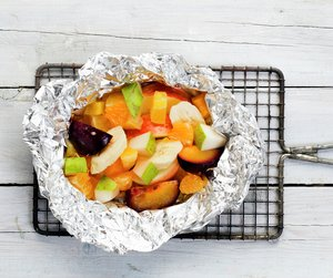 Frukt i folie - fra boken Førsteklasses mat