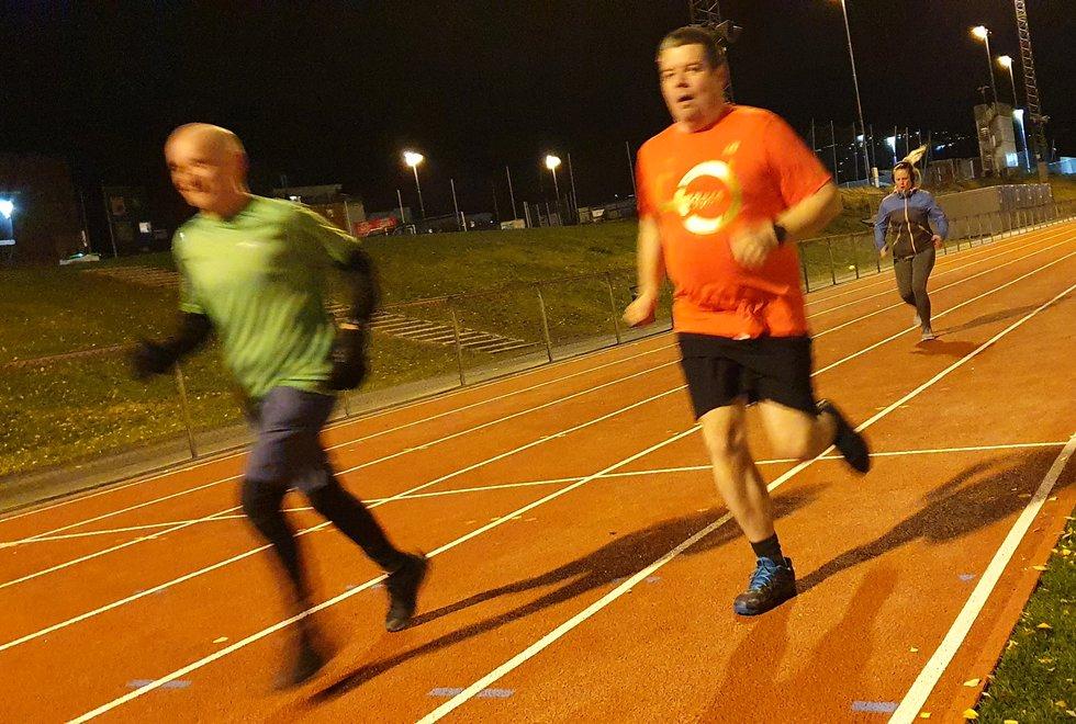 Kondistreninga Trondheim løper Kondisløpet på bane