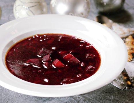 Borscht - rødbetesuppe