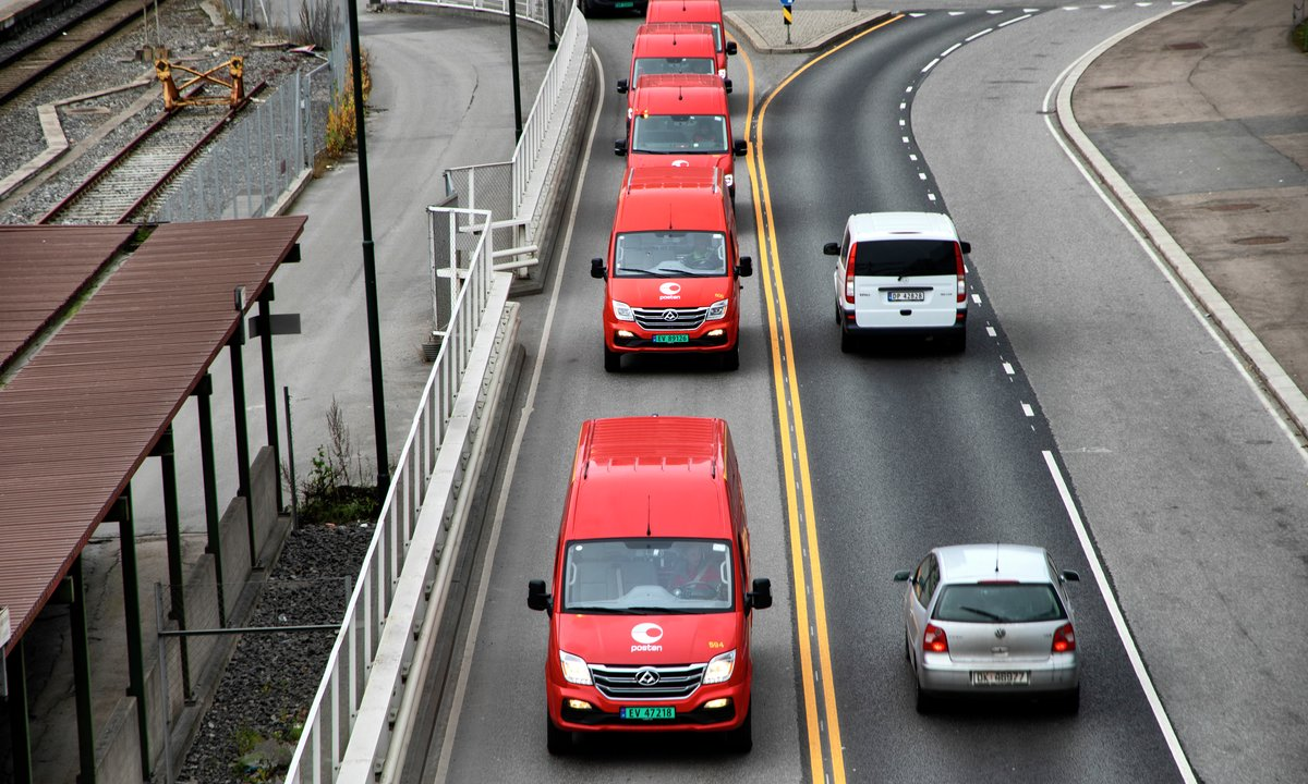 Rød kinesisk nykomling inntar sentrum