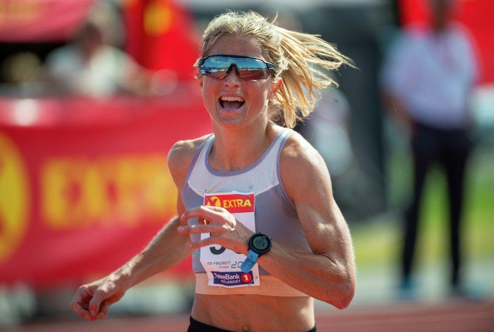 NM Friidrett 2019 - 10000m - Therese Johaug