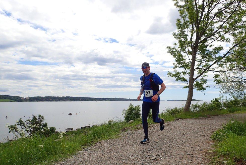 Svein-Robert Johansen i Tretoppsløpet på Jeløya 2019