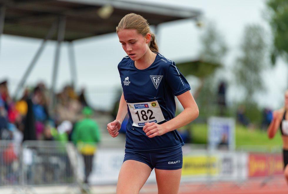 UM friidrett 2019 Jessheim - 2000m J15