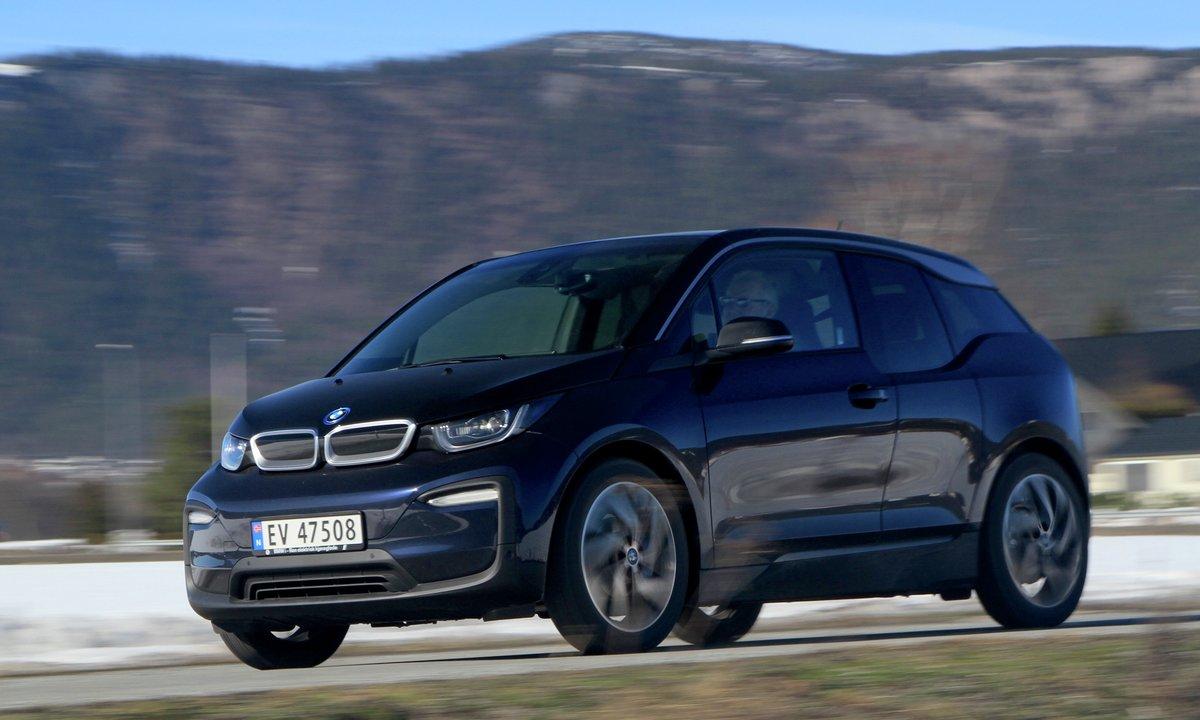 Test av BMW i3 120Ah: Denne lukter på 300 kilometer