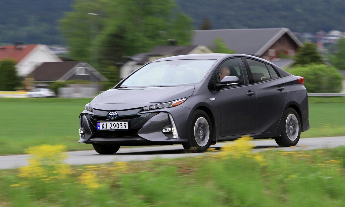 Test av Toyota Prius PHV: Til topps blant de ladbare