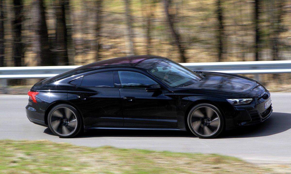 Test av Audi e-tron GT: Når ikke helt opp til Taycan