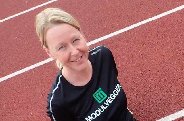 Wenche Wikstrøm er treningsleder for Kondis sin treningsgruppe i Nes i Akershus