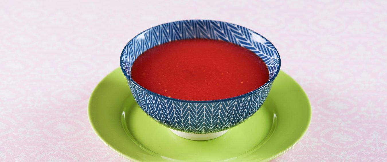 hjemmelaget tomatsuppe, tomatsuppe