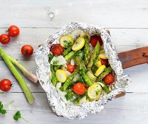 Grønnsaker i folie