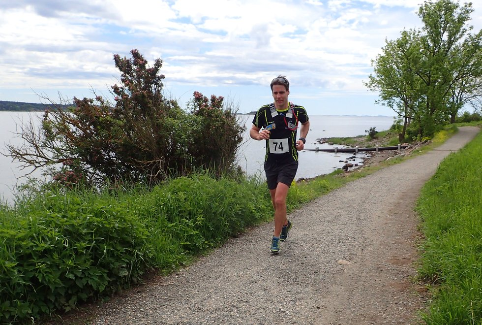 Marius Gjestrumbakken i Tretoppsløpet på Jeløya 2019