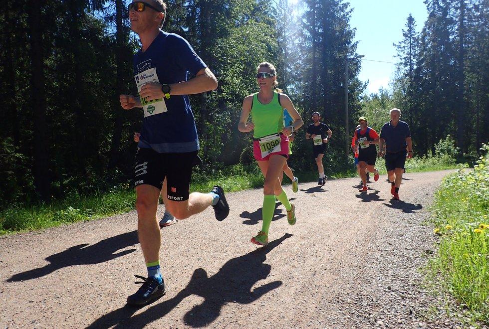 Nordmarka Skogsmaraton 2019