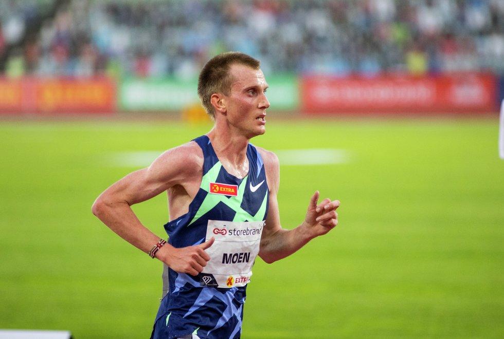 Sondre Nordstad Moen topper maratonlista for menn med god margin. Bildet er fra Impossible Games 2020 (Foto: Sylvain Cavatz)