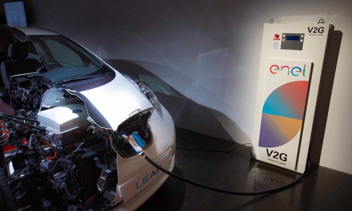 Over halvparten vil bruke elbilen som reservelager ved strømbrudd