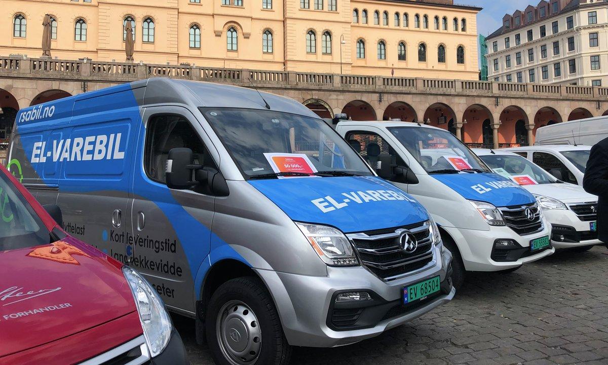 Enova lanserer støtte til elvarebil