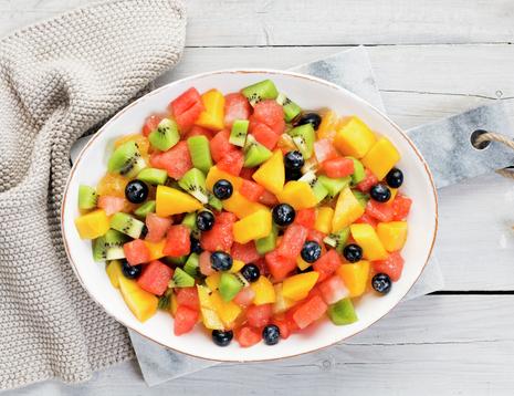 Fargerik fruktsalat - fra boken Førsteklasses mat