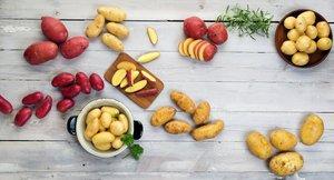 Fra boken Førsteklasses - oppslagsbilde poteter