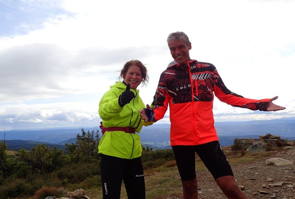 Marianne Røhme og Tim Bennett, Ilsetra rundt Hafjelltoppen