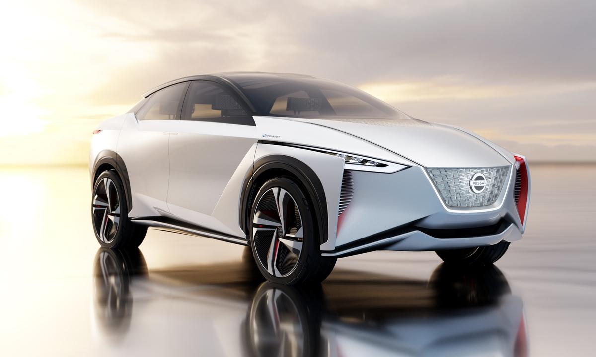 Nissan viser helelektrisk 4×4