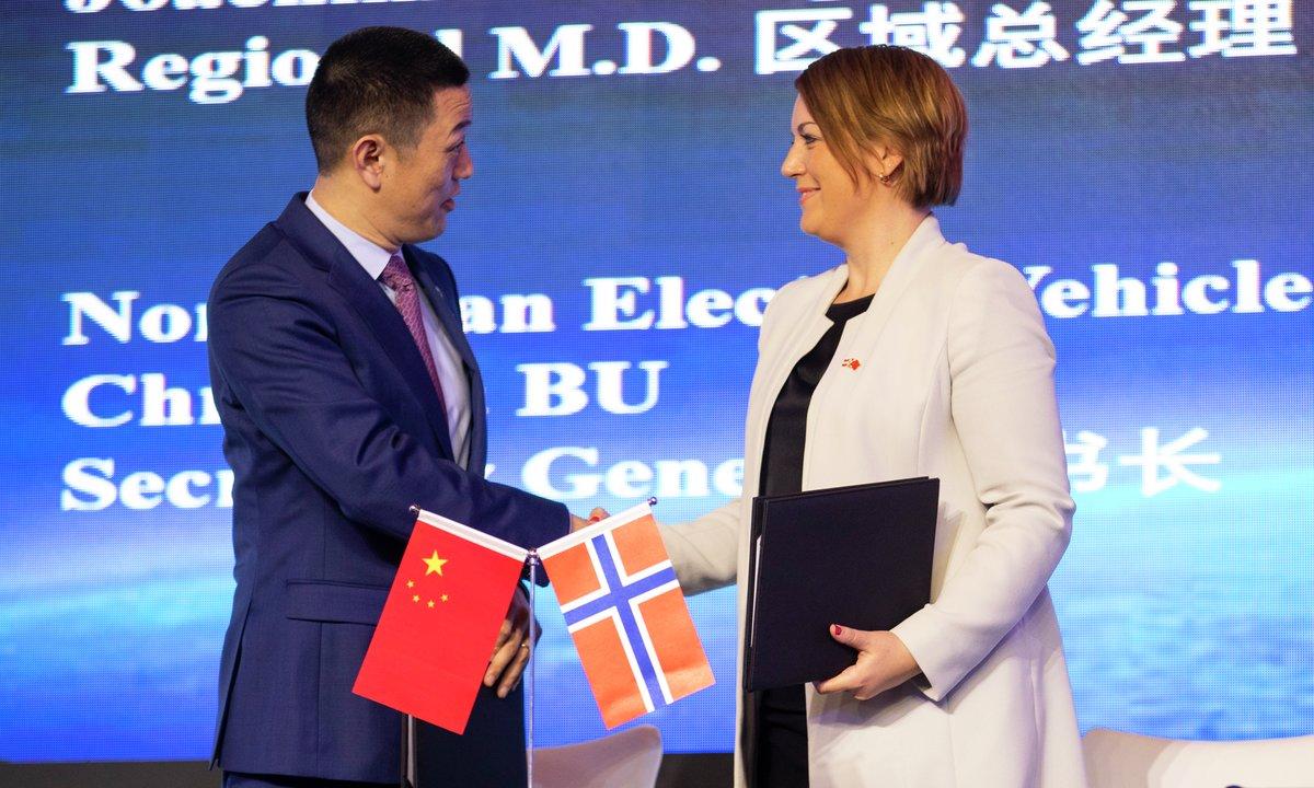 Inngår samarbeid med kinesisk elbilprodusent