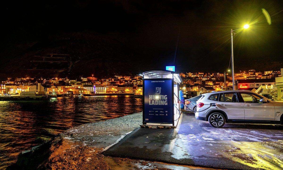 Hurtigladeren feirer 10 år i Norge
